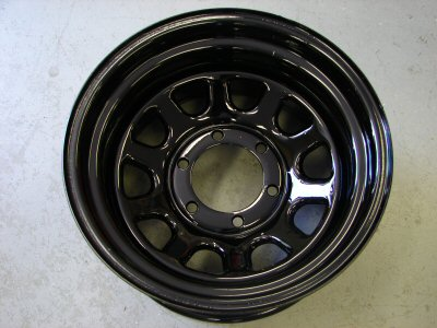Steel Wagon Wheels - 15 x 8