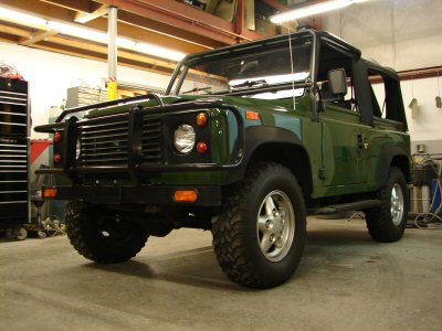Restoration D90 Land Rover 1994