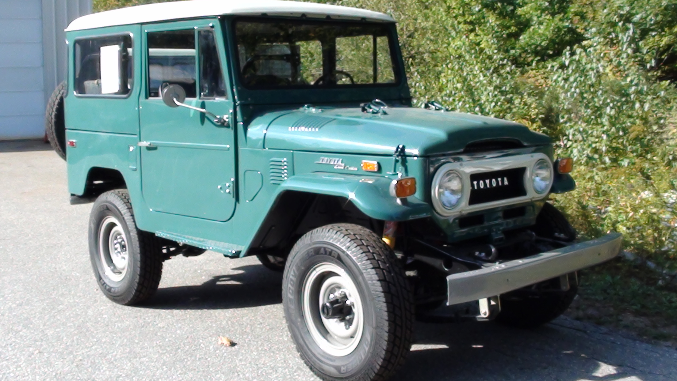 Restoration 1973 FJ40 Chevy 350 V8