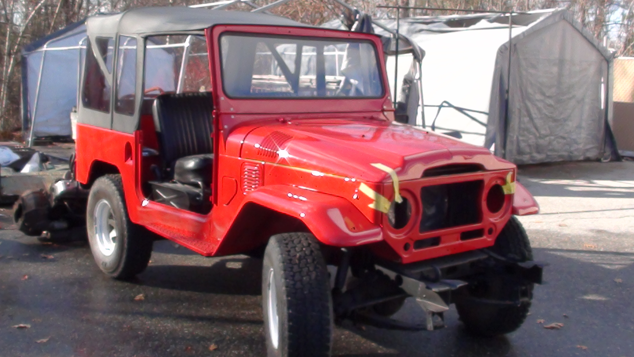 1969 FJ40- V8 Conversion