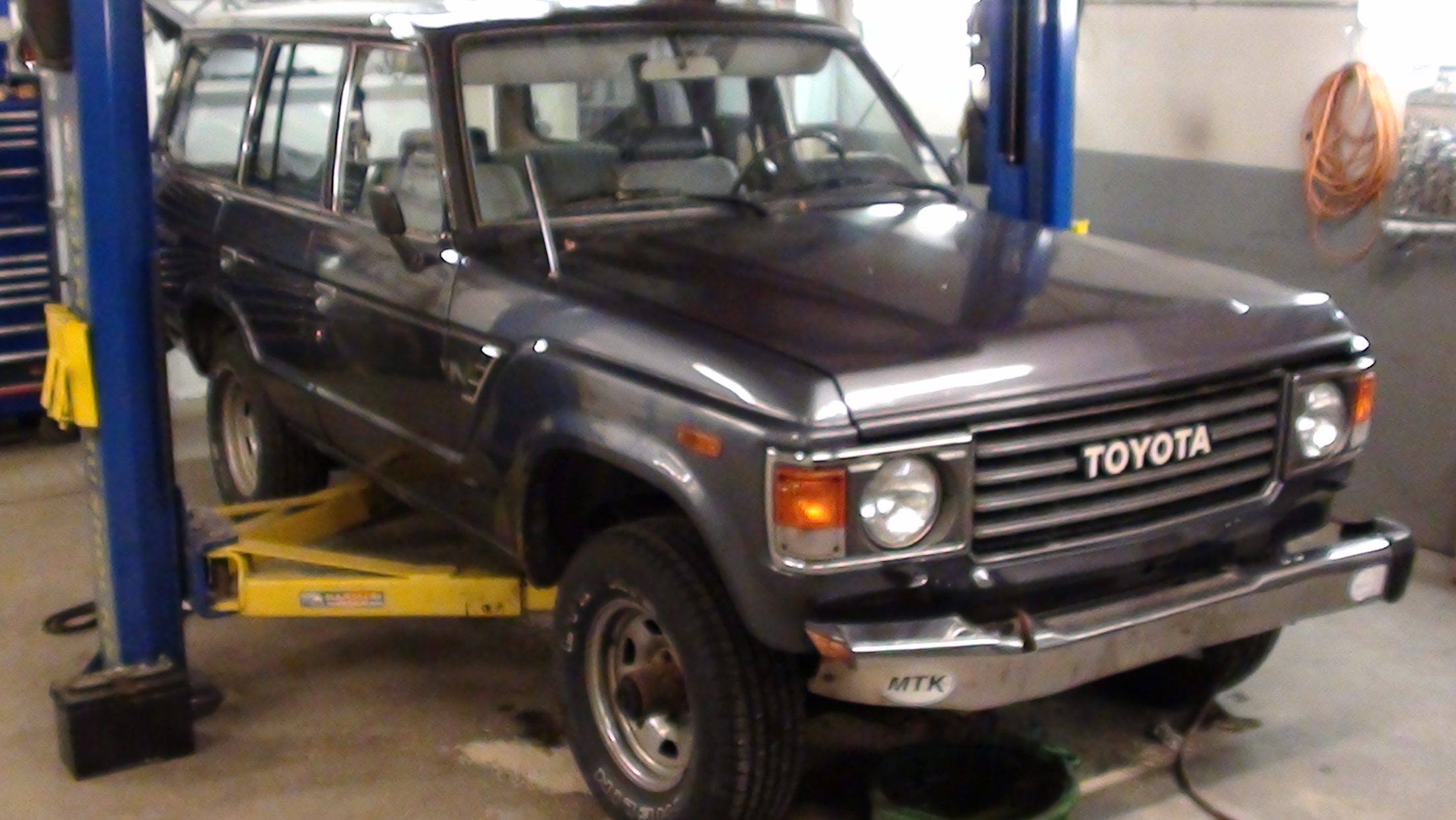 FJ60 Diesel Conversion- 2F to 2H