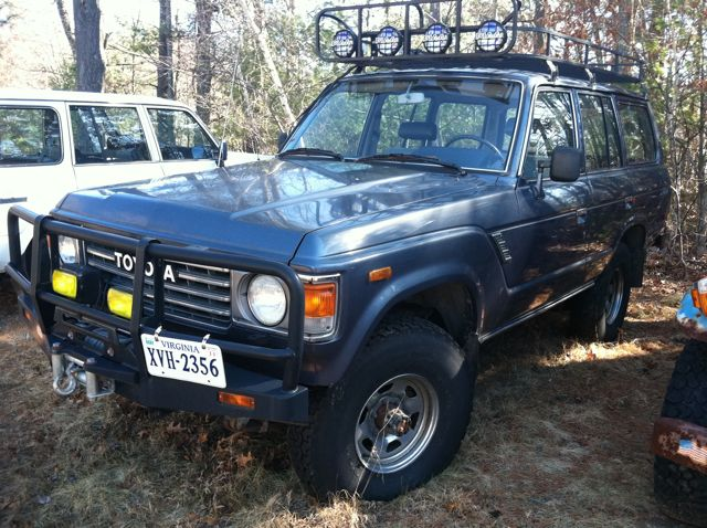 1987 FJ60 Diesel Conversion