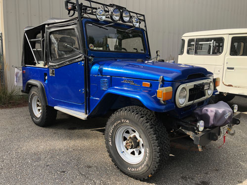 1973 FJ40 Past Restoration