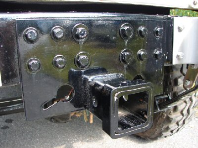 "Tow Plate with 2"" Receiver Hitch"