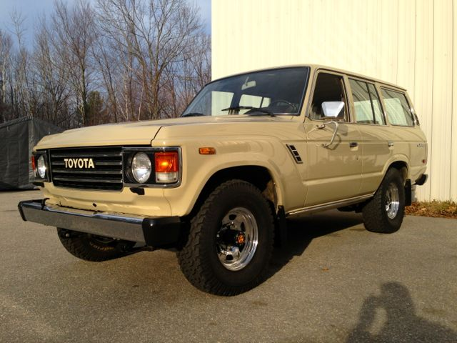 Restoration 1984 FJ60 CA to Italy