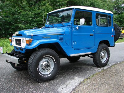Restoration 1980 BJ40- Martha's Vineyard Cruiser