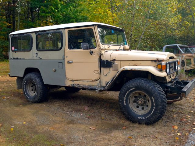 Restoration 1979 Troop Carrier