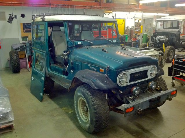 1976 FJ40- Chevrolet V8 Restoration