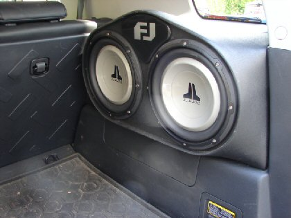 Sub Woofer- FJ Cruiser