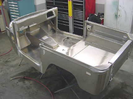 Aluminum Body Tubs, Cowls, Beds