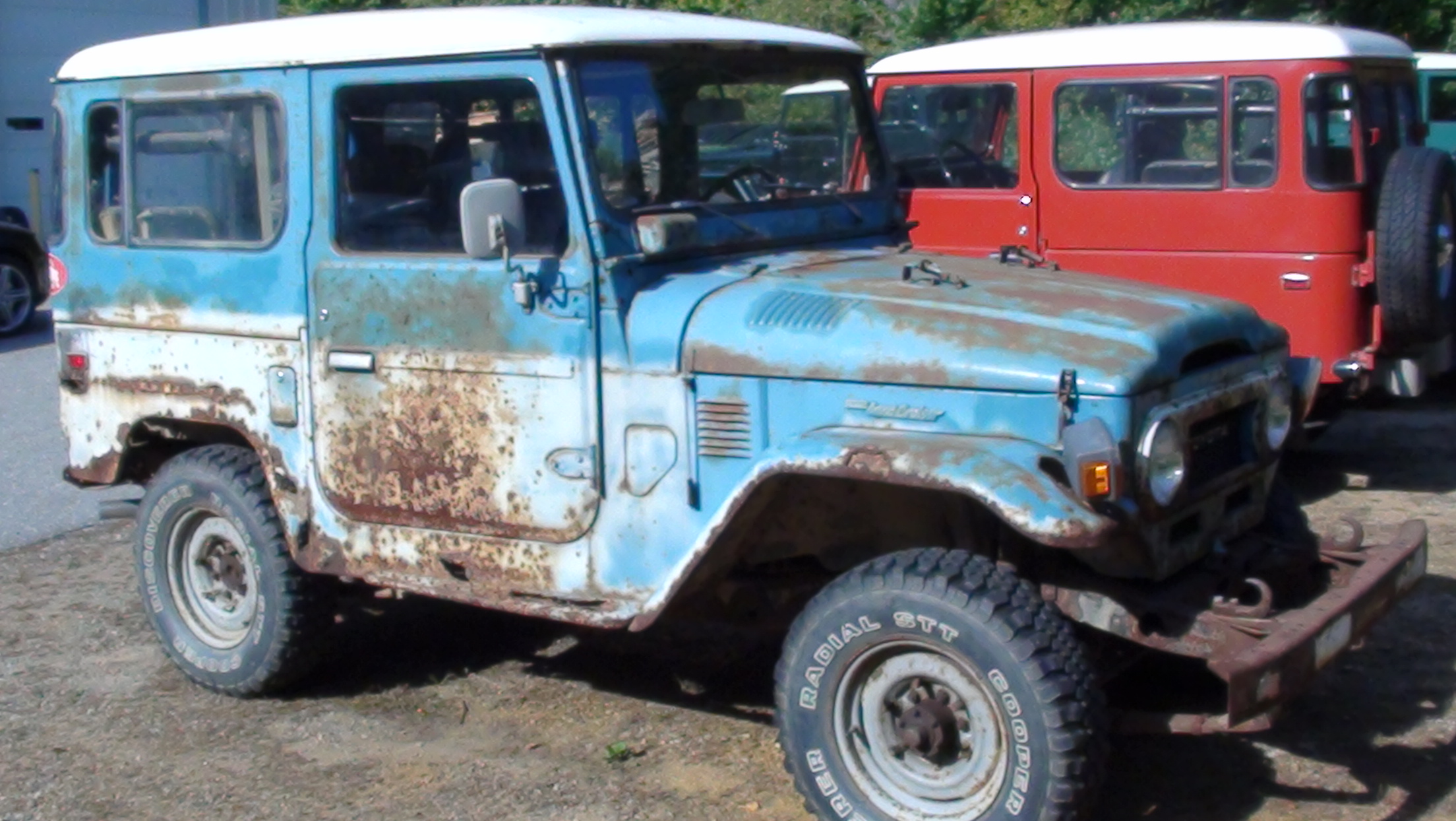 Restoration FJ40 1978- Barn Cruiser