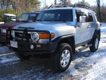 FJ Cruiser Bull Bar & old Man Emu Installation