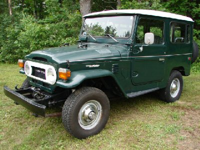 1978 FJ40 past Cruiser Solutions Restorations