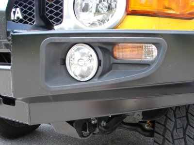 Ipf Fog Light Inserts For Fj Bull Bar 9249fck Cruiser