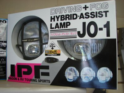 IPF Driving/Fog Lights, Dual Bulb - JO1C (Black Body)