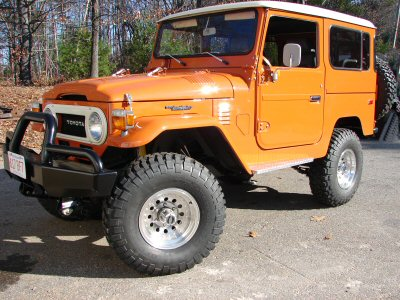 Restoration 1978 FJ40- Pumpkin