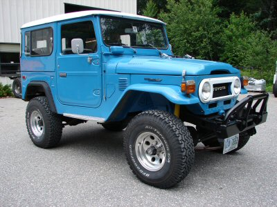 1976 FJ40- Previous CS Restoration