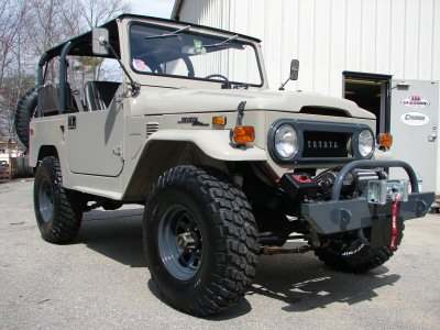 Restoration 1973 FJ40- Upgrades