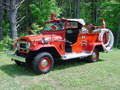 1964 Land Cruiser Fire Truck