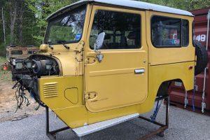 1979 FJ40 Frame Swap